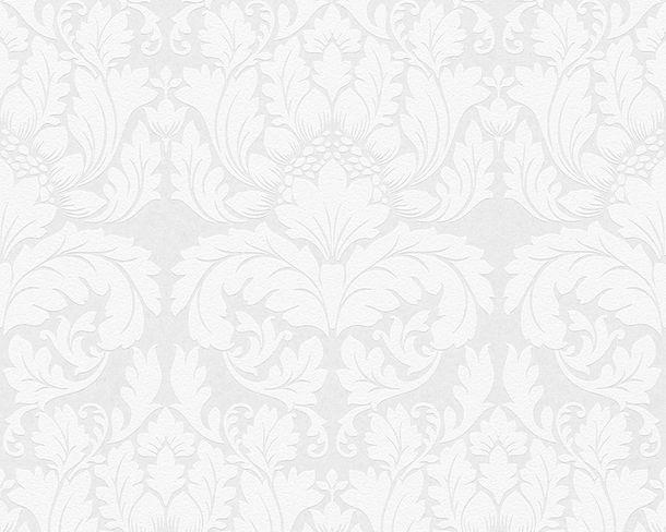 Wallpaper paintable baroque floral white Architects Paper Pigment 95135-1 online kaufen