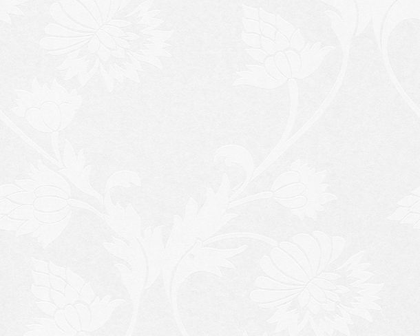 Wallpaper paintable floral white Architects Paper Pigment 95353-1