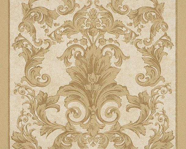 Wallpaper baroque gold cream AS Creation Versace 96216-5 online kaufen