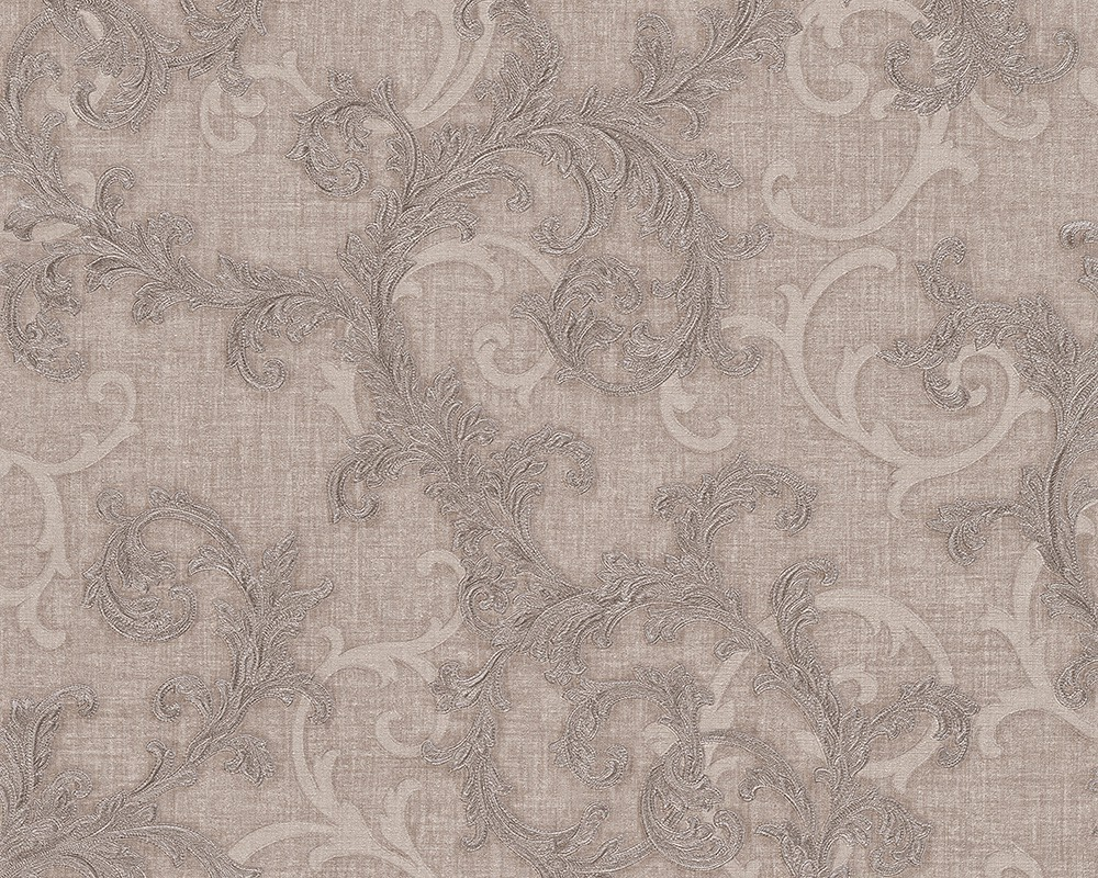 Wallpaper baroque grey silver AS Creation Versace 96231-1 001