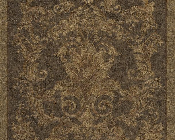Wallpaper baroque brown green AS Creation Versace 96216-1 online kaufen