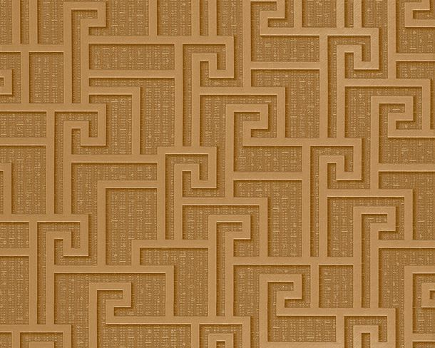 Wallpaper abstract pattern gold AS Creation Versace 96236-1 online kaufen