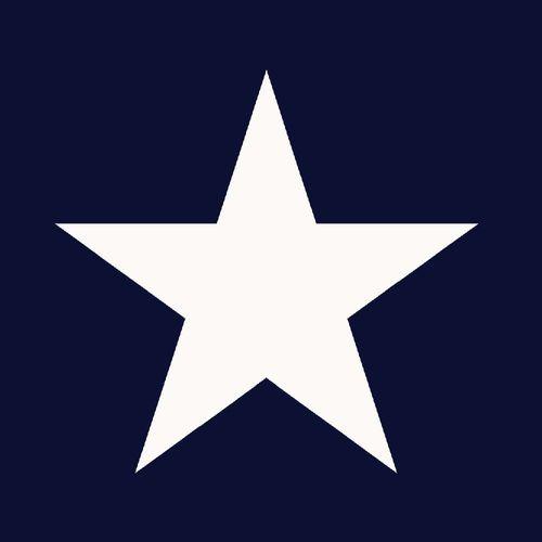 Tapete Vlies Sterne blau weiß Everybody Bonjour 136454 online kaufen