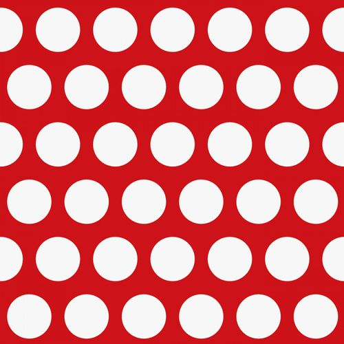 Non Woven Wallpaper dots red white Everybody Bonjour 138720 online kaufen