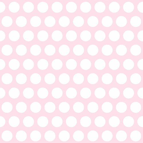 Non Woven Wallpaper dots rose white Everybody Bonjour 138721 online kaufen