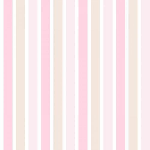 Tapete Vlies Streifen rosa beige weiß 138701 online kaufen
