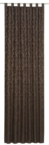Loop curtain Relax Touch brown non-transparent 194963 online kaufen