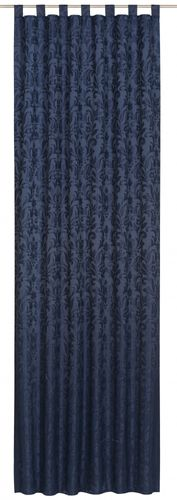Loop curtain Relax Touch blue non-transparent 194956 online kaufen