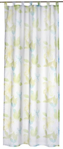 Loop curtain Flower Poetry green transparent 196134 online kaufen