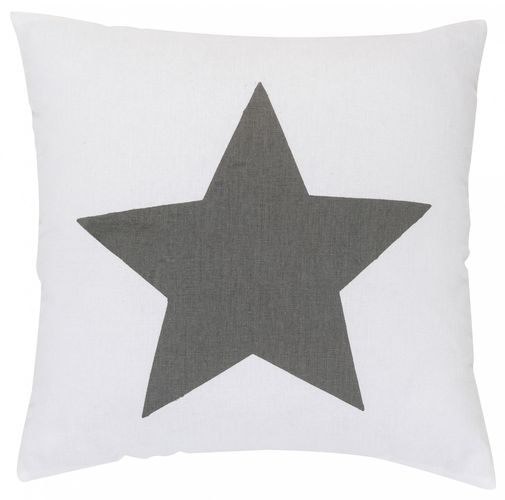 Pillow with filling stars grey 45x45 cm 195885 online kaufen