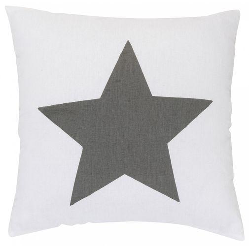 Kissen mit Füllung Sterne grau 45x45 cm 195885 online kaufen