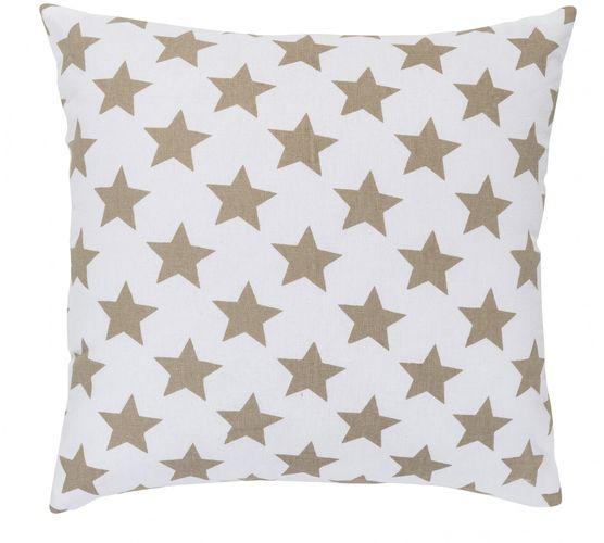 Kissen mit Füllung Sterne braun 45x45 cm 195892 online kaufen