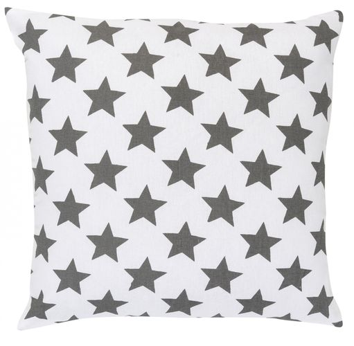 Pillow with filling stars grey 45x45 cm 195908 online kaufen
