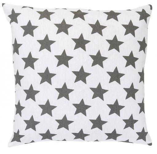 Kissen mit Füllung Sterne grau 45x45 cm 195908 online kaufen