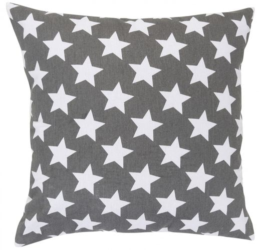 Pillow with filling stars grey 45x45 cm 195922 online kaufen