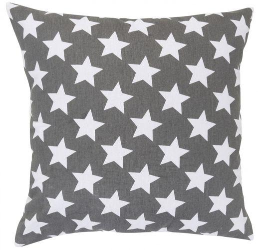 Kissen mit Füllung Sterne grau 45x45 cm 195922 online kaufen