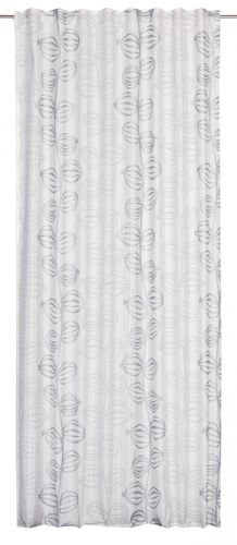 Eyelet curtain Just Me Deko 140 x 255 cm Design white non-transparent 196400 online kaufen
