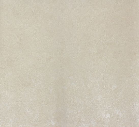Non-Woven Wallpaper Plain Plaster cream Metallic 56838
