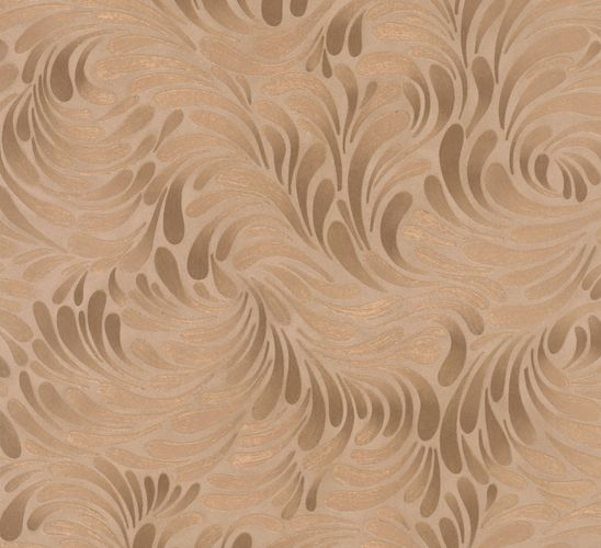 Wallpaper graphic copper Marburg Opulence 56008 online kaufen