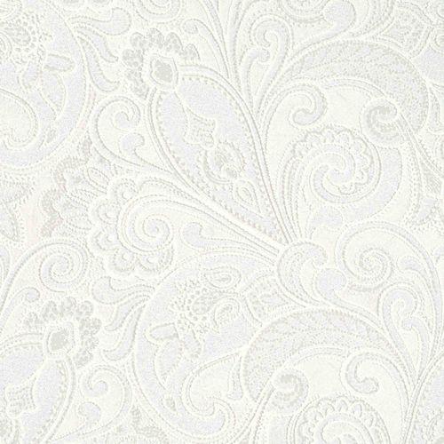 Vliestapete Barock creme weiß Marburg 56825