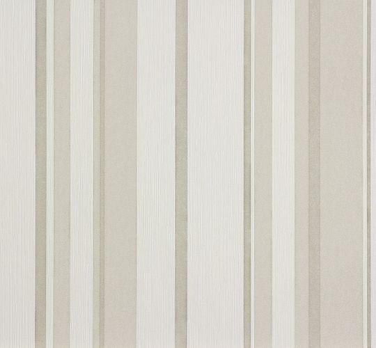 Wallpaper stripes white grey Marburg 56921 online kaufen