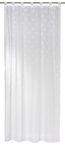 Loop curtain semi transparent white 140x255cm 197476 online kaufen