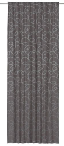 Loop curtain opaque grey 140x255 cm 197506 online kaufen