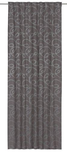 Schlaufenschal blickdicht grau 140x255 cm 197506 online kaufen