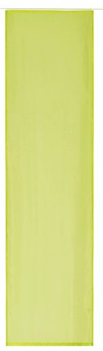 Panel curtain transparent uni green 60x245cm 197186 online kaufen