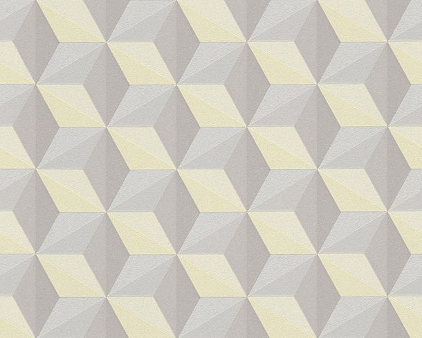 Wallpaper non-woven graphic yellow Life 3 96255-3 online kaufen