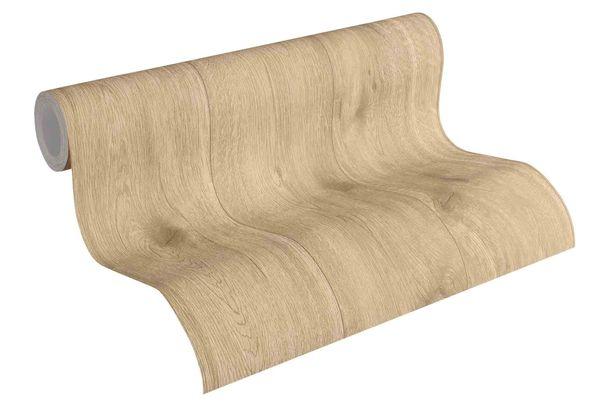 Tapete Vlies Holz-Optik Holzplanke hellbraun 30043-4 online kaufen