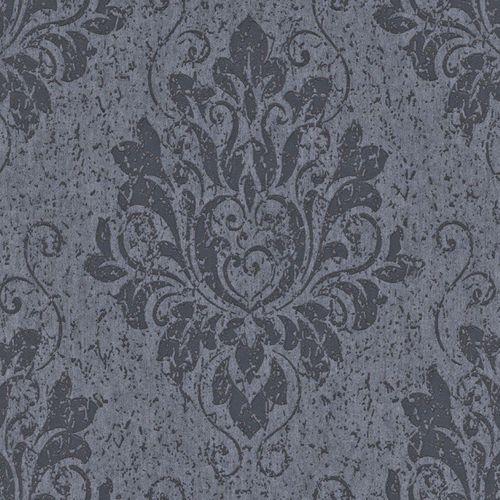 Tapete Vlies Barock blau Rasch Textil 226224