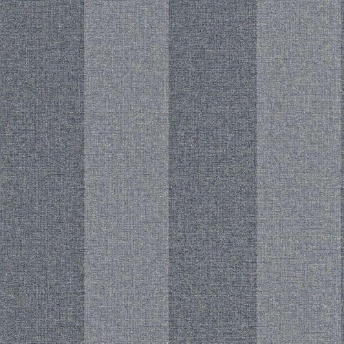 Tapete Vlies blau blaugrau Streifen Rasch Textil 226538