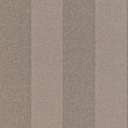 Tapete Vlies Streifen lila gold Rasch Textil 226569