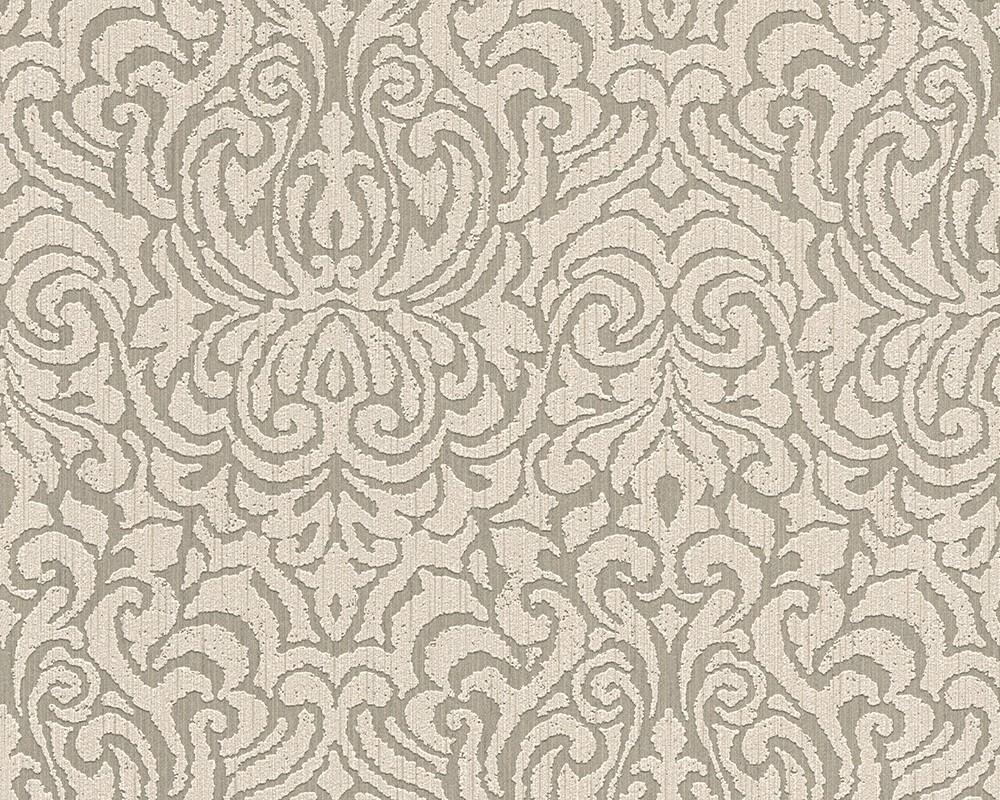 tapete vlies barock beige grau tessuto 96193 1. Black Bedroom Furniture Sets. Home Design Ideas
