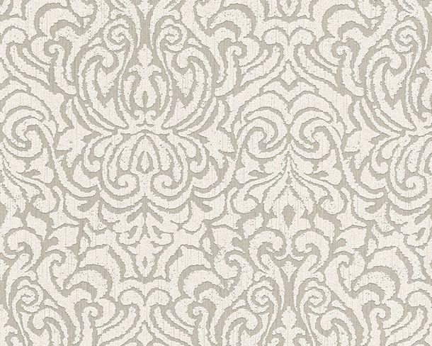 Tapete Vlies Barock grau weiß Tessuto 96193-3 online kaufen