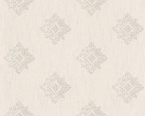 Wallpaper baroque white grey Tessuto 96200-2 online kaufen