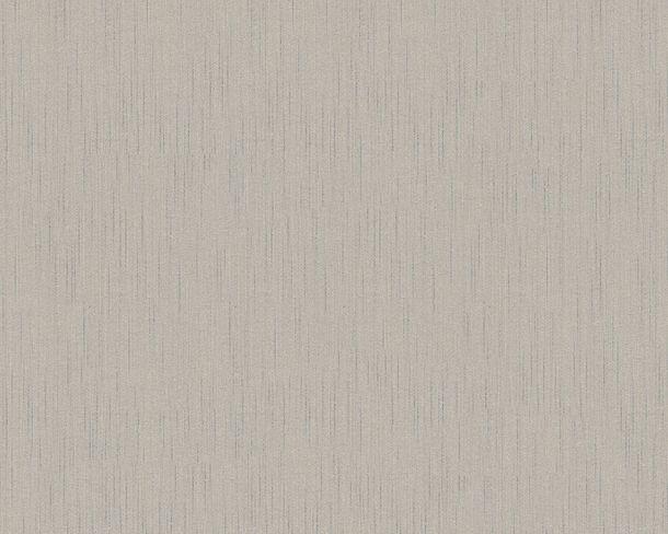 Wallpaper uni grey white Tessuto 9685-17