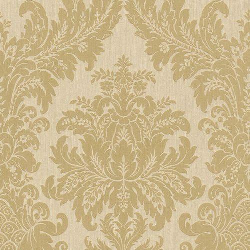 Wallpaper nature cream gold Rasch Textil 077284 online kaufen
