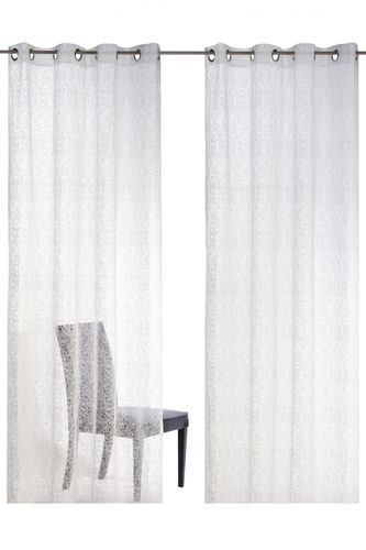 Eyelet curtain transparent white Colourful Moments 179694 online kaufen