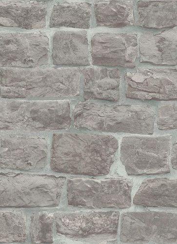 Wallpaper stones grey Erismann Brix 5818-10 online kaufen