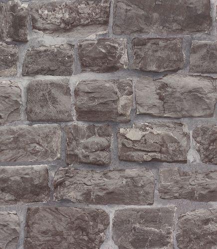 Wallpaper stones grey Erismann Brix 5818-15 online kaufen