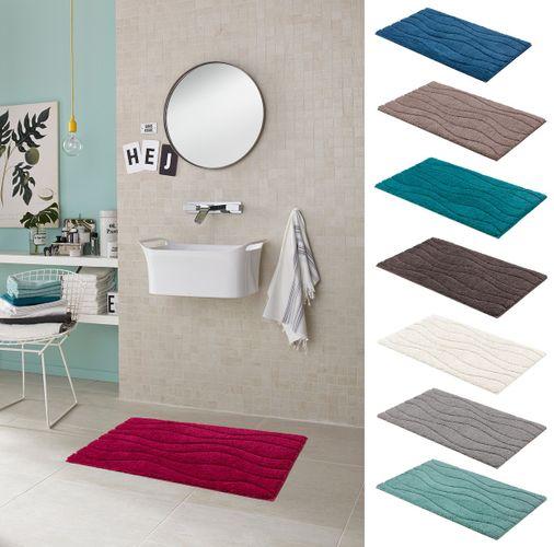 Schöner Wohnen Badteppich Santorin Streifen 3 Größen vers. Farben online kaufen