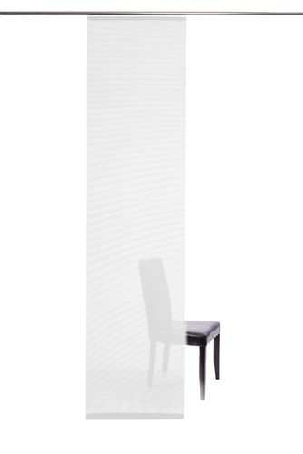 Panel curtain semi transparent white plain 5802-00 online kaufen