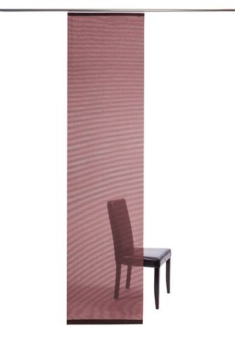 Panel curtain semi transparent red plain 5802-48 online kaufen