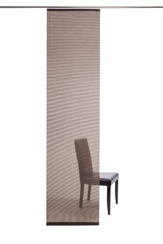 Panel curtain semi transparent copper plain 5802-55 online kaufen