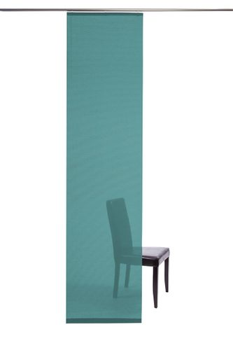 Panel curtain semi transparent turquoise plain 5840-24 online kaufen