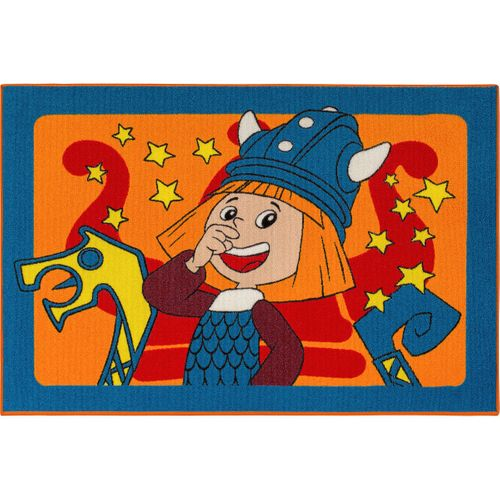 Kids Rug Wickie Play Carpet colorful 95x133cm online kaufen