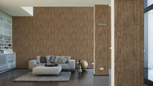 Wallpaper wood design board brown AS Creation 7088-23 online kaufen