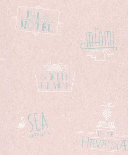 Barbara Becker wallpaper b.b. Miami rose 476200 online kaufen